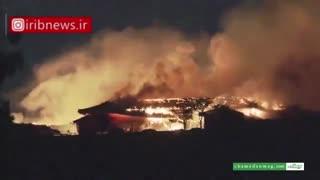 نابودی یکی از میراث های جهانی در ژاپن