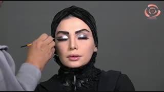 میکاپ هالووین مدل آنجلینا جولی در فیلم شیطان صفت یا سفید برفی