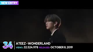 «TOP 50» MOST VIEWED 2019 KPOP MUSIC VIDEOS (OCTOBER)