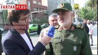 فرمانده سپاه پاسداران: جزئیات دستگیری روحالله زم را وقتی به نقطه جذاب رسید، منتشر میکنیم