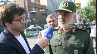 اظهارات فرمانده سپاه درباره پشت پرده دستگیری روح الله زم