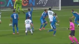 خلاصه بازی حساس و دیدنی لوکوموتیو مسکو 1 - یوونتوس 2 (لیگ قهرمانان اروپا)
