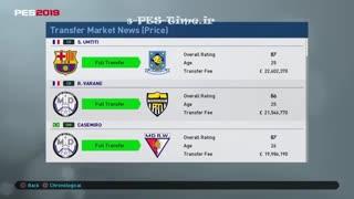 آموزش ویدئویی بازی PES2019 به زبان فارسی (منوهای ML)