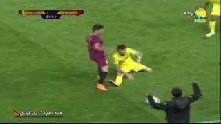 خلاصه بازی شهرخودرو 1 - 0 پارس جنوبی