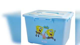 جعبه اسباب بازی روبیک پلاستیک
