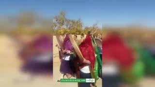افتتاحیه جشنواره انار  در روستای زرتشتی نشین مبارکه تفت