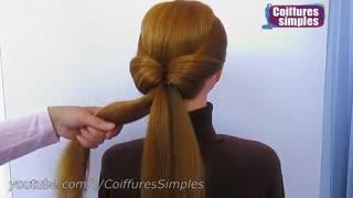 آموزش مدل مو دختران شینیون پایین- مومیس مشاور و مرجع تخصصی مو