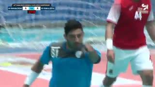 دیدار تیم های هندبال الوکره و الوحده در قهرمانی باشگاه های آسیا2019