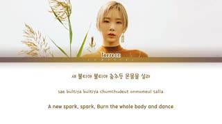 TAEYEON Spark Lyrics (태연 불티 가사) [Color Coded Lyrics/Han/Rom/Eng] آهنگ جدید تیان بنام جرقه