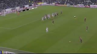 خلاصه بازی یوونتوس 1 - آث میلان 0 (سری آ ایتالیا)