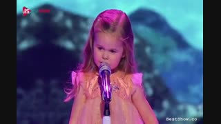 خواننده سه ساله
