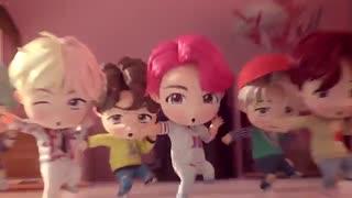 موزیک ویدویوی بامزه ی انیمیشنی از BTS