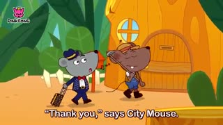 Country Mouse and City Mouse | Fairy Tales | Musical