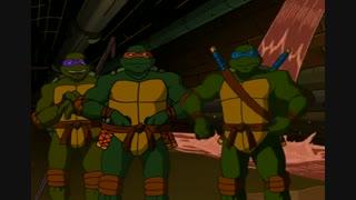 انیمیشن لاکپشت های نینجا قسمت 2 فصل 1 با دوبله فارسی