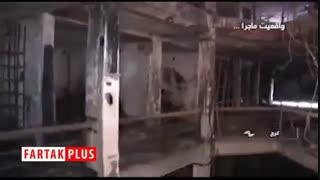 تازهترین فیلمها از خسارتهای اغتشاشات اخیر/ ماجرای خالی کردن بار در اتوبان امام علی(ع) تهران به روایت راننده کامیون