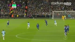 خلاصه و گل های بازی منچسترسیتی 2 - چلسی 1 (لیگ برتر انگلیس)