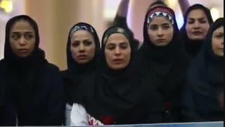 مراسم استقبال از تیم ملی بانوان کبدی ایران در فرودگاه هاشمی نژاد مشهد