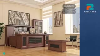 میز مدیریت کلاسیک |  شرکت تولیدی رایان میز