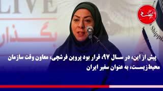 سومین سفیر زن ایران