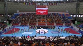 مراسم افتتاحیه مسابقات هندبال قهرمانی جهان 2019