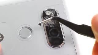 آموزش تعمیر و تعویض دوربین گوشی LG V20