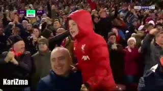 خلاصه بازی لیورپول 5 - اورتون 2 (لیگ برتر انگلیس)