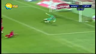 خلاصه بازی پرسپولیس 3 - ذوب آهن 0   لیگ برتر 98-99