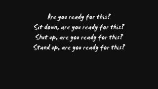 Are You Ready? - Three Days Grace *Lyrics