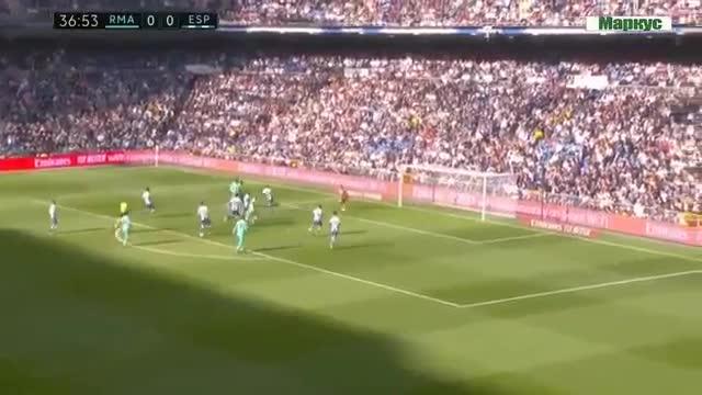 خلاصه بازی رئال مادرید 2 - اسپانیول 0 (لالیگا اسپانیا)