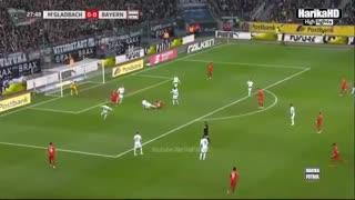 خلاصه بازی مونشن گلادباخ 2 - بایرن مونیخ 1 (بوندسلیگا آلمان)