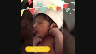 تولد طبیعی نوزاد