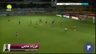 گلهای برتر هفته چهاردهم لیگ برتر ایران