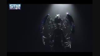 ساخت اسکلت فلزی که شما را به ربات غول پیکر تبدیل می کند