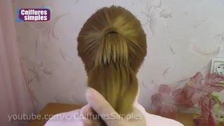 آموزش مدل مو دخترانه دم اسبی جمع شده- مومیس مشاور و مرجع تخصصی مو