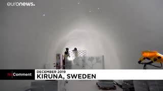 ساخت هتلی با یخ در قطب شمال