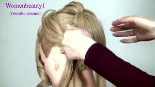 آموزش مدل مو دخترانه مواج- مومیس مشاور و مرجع تخصصی مو