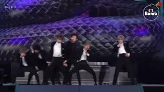 بنگتن بمب BTS اجرای آهنگ Dionysus در مراسم MAMA 2019 / بی تی اس