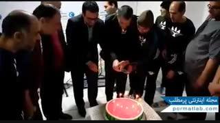 جشن یلدا در آسایشگاه بزرگسالان خیریه معلولین بچه های آسمان