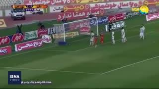 گلهای هفته شانزدهم لیگ برتر فوتبال