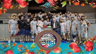 جشن شب یلدای تیم ملی والیبال ایران