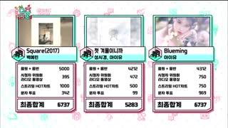 پنجمین برد آیو IU در Music Core با آهنگ Blueming / آی یو