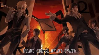Nightcore به نام run devil run