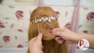 آموزش مدل مو دخترانه مجلسی ویرال- مومیس مشاور و مرجع تخصصی مو