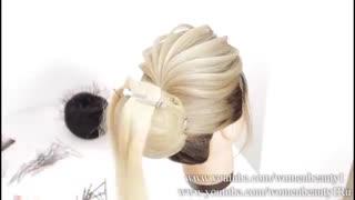 آموزش مدل مو دخترانه پر گل- مومیس مشاور و مرجع تخصصی مو