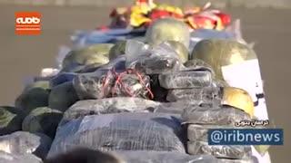 کشف یک تن و 153 کیلو انواع مواد مخدر در بیرجند
