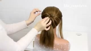 آموزش مدل مو دخترانه مجلسی برای موهای کوتاه- مومیس مشاور و مرجع تخصصی مو