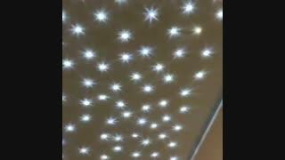 کریستال سقفی -فیبرنوری نورپردازی09123647427