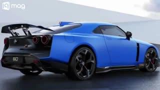 خودروی جدید نیسان GT R50
