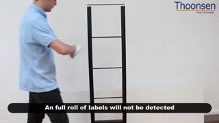 نحوه آموزش استفاده صحیح و نصب لیبل فروشگاهی rf  و لیبلهای فروشگاهی