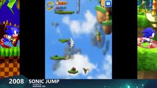 تکامل  بازی های Sonic the Hedgehog از 1991 تا 2019